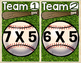 Multiplication Baseball (Facts to 50)