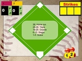 Multiplication Baseball Flipchart