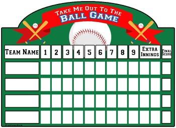 Multiplication Baseball Game CC 3.0A.A.1