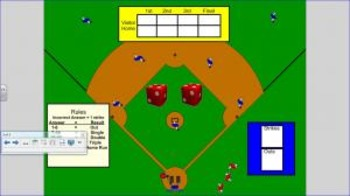 Multiplication Baseball Game for 2nd Grade