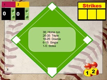Multiplication Baseball (Interactive Whiteboard file)
