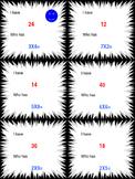 Multiplication Basic Fact Game