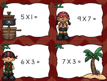 Multiplication Game with Printable Worksheets