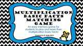 Multiplication Basic Facts Matching Game