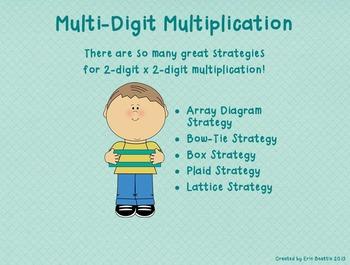 Teaching Multiplication Basic Facts and Alternative Algorithms