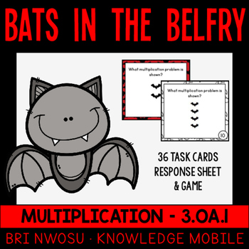 Multiplication - Bats in the Belfry -  3.OA.1