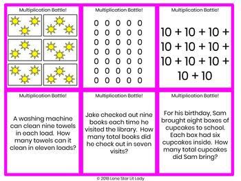 Multiplication Battle! Game