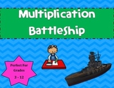Multiplication Battleship