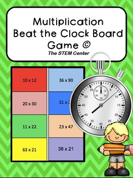 Multiplication Beat The Clock Game