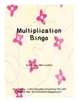 Multiplication Bingo!