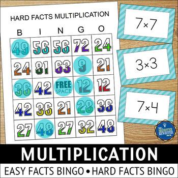 Math Facts Bingo Teaching Resources | Teachers Pay Teachers