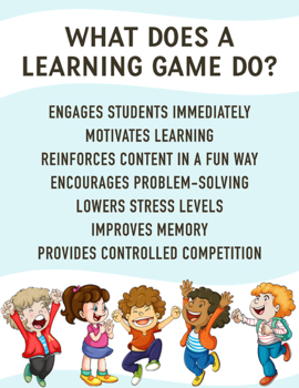 Multiplication Bingo Games