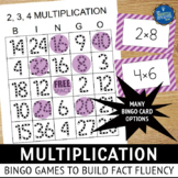 Multiplication Facts Bingo