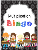 *Differentiated Multiplication Bingo* Includes Flashcards and 3 Levels of Bingo