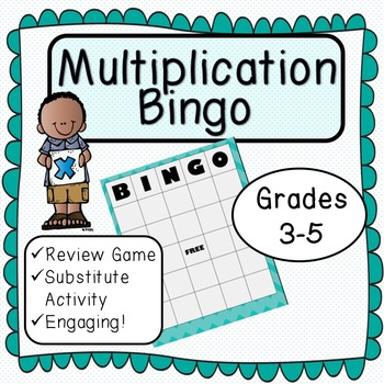 Multiplication Bingo!!