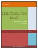Multiplication Bingo (Basic Facts)