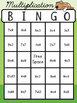 Multiplication Bingo - Basic Math Facts