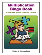 Multiplication Bingo Book