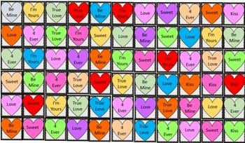 Multiplication Bingo! +Calling Cards & Bonus Valentine Place Markers!