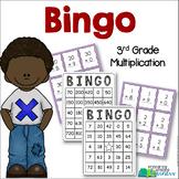 3rd Grade Multiplication Bingo! {3.OA.7 Math Center/Station/Game}{Math Facts}