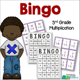 3rd Grade Multiplication Bingo! {3.OA.7 Math Center/Statio