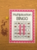 Multiplication Bingo: Factors 1-12