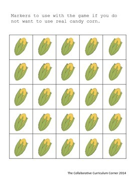 Multiplication Bingo: Facts 2 and 5 (Thanksgiving Edition)
