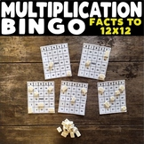Multiplication Bingo: Facts to 12X12
