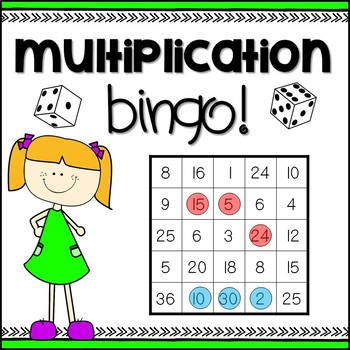 Multiplication Bingo Game