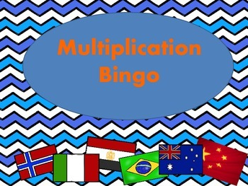 Multiplication Bingo (Global Style)