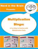 Multiplication Bingo! (Math Game)