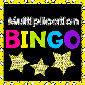 Multiplication Bingo SmartBoard Game