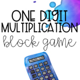 Multiplication Block Tower Game