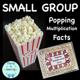 Multiplication Board Game: Popping Multiplication Facts