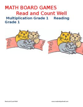 Multiplication Board Games  Grade 1