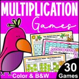 Printable Multiplication Games for Fact Fluency: Multiplic