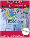 Multiplication Boggle