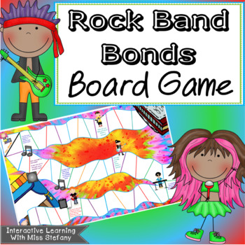 Multiplication Bonds with a Rock Band {Candyland Style Game}