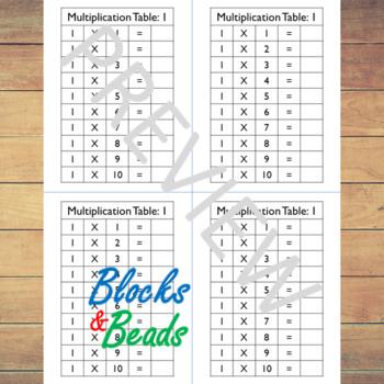 Multiplication Book