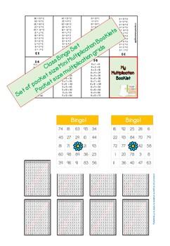 Multiplication Booklet 1-12