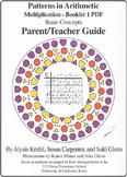 Multiplication:  Booklet 1 - Parent/Teacher Guide - Basic Concepts