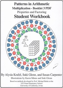 Multiplication:  Booklet 3 - Properties and Factoring Student Workbook