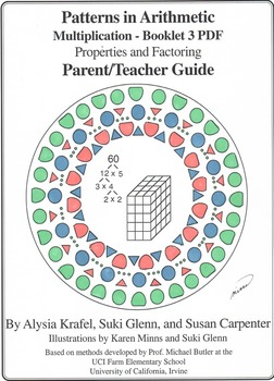 Multiplication:  Booklet 3 - Properties and Factoring Teacher Guide