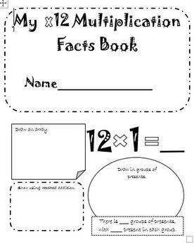 Multiplication Booklet Bundle! x1-x12 Facts