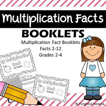 Multiplication Booklets 2-12