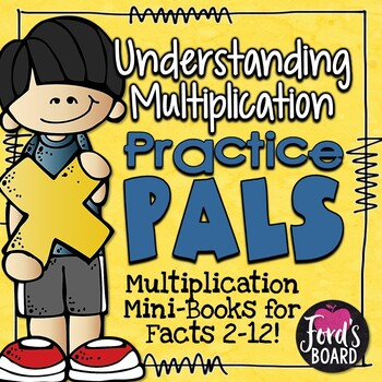 Multiplication Facts Booklets for Practicing Strategies an