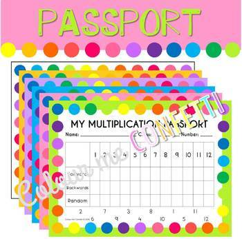 Multiplication - Booklets, passports and diplomas - Crazy multiplication