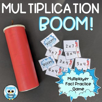 BOOM! - Multiplication Fact Practice Game by Hooty\'s Homeroom | TpT