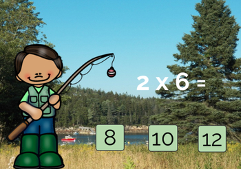 Multiplication Boom Cards Times 2 FREE