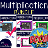 Multiplication Boom Deck Bundle (2x1, 3x1, 4x1, and 2x2) 4.nbt.b.5